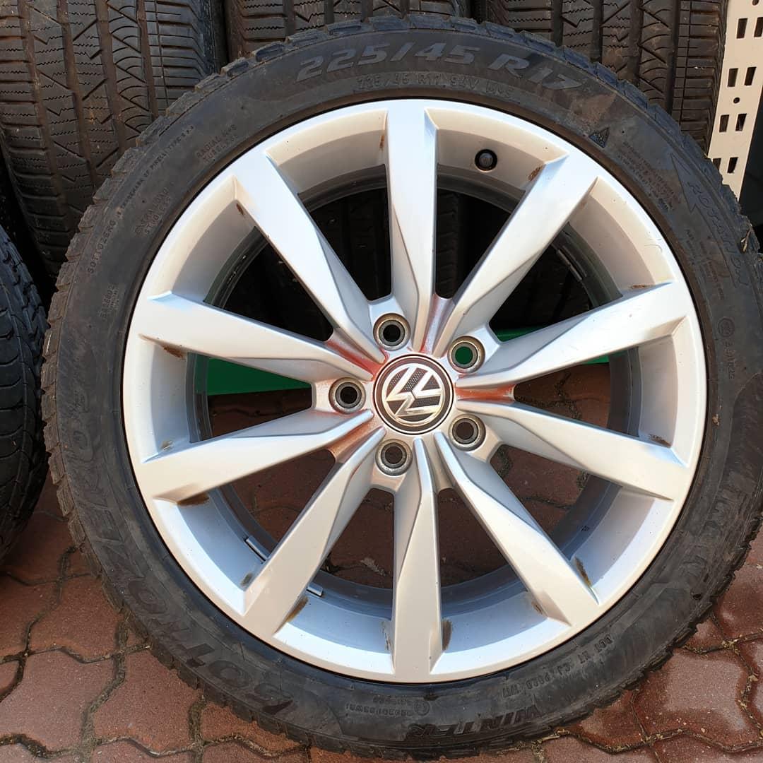 volkswagen 1 janta 225/45/R17 VW 5X112