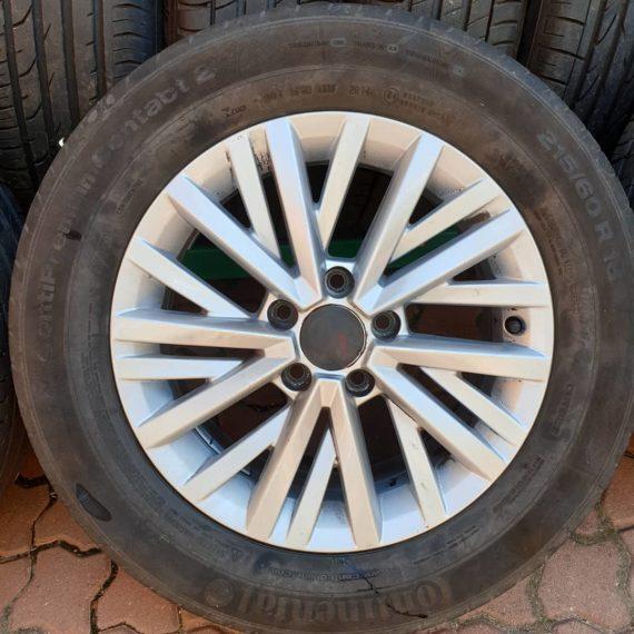1 janta 215/60/R16 VW 5x112 super