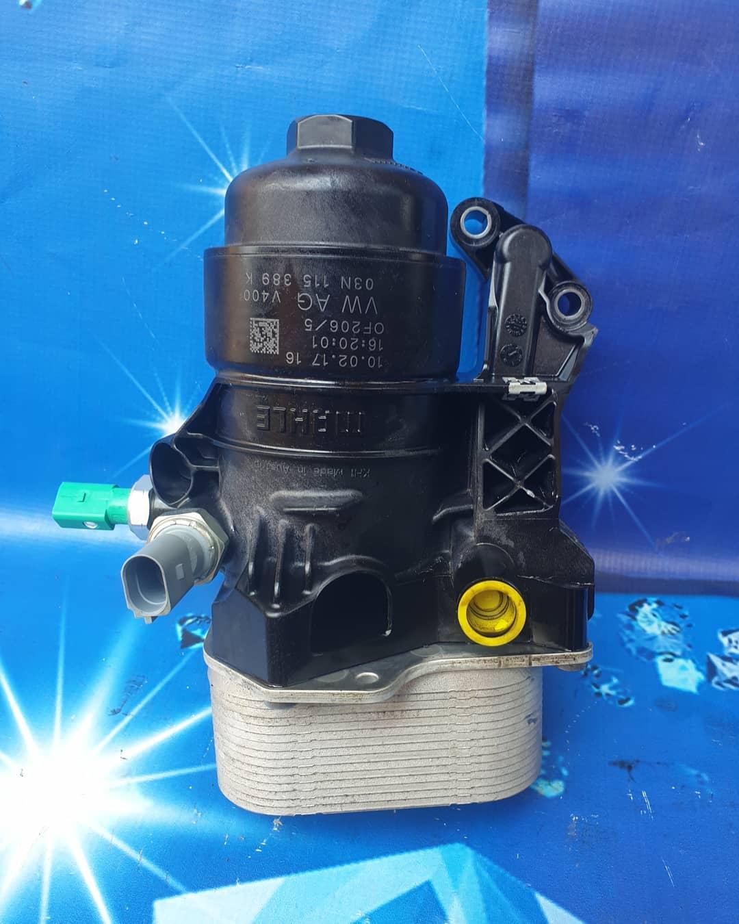 Termoflot + suport filtru ulei VW Arteon