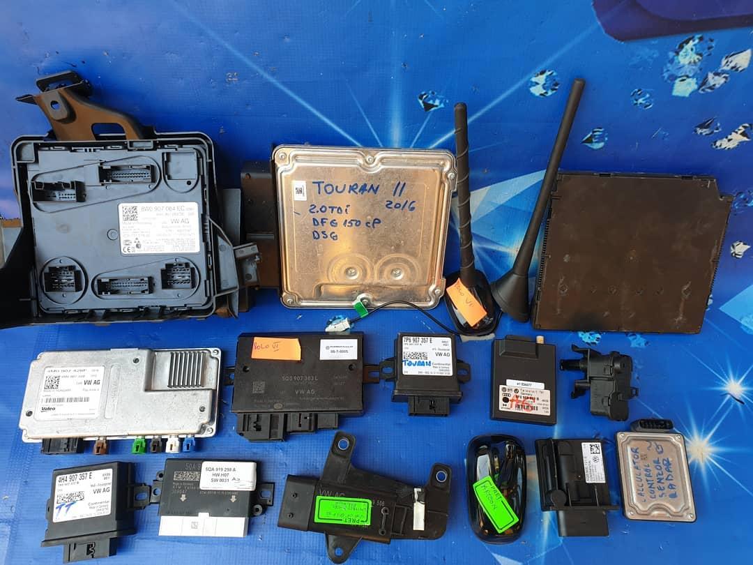 Module, calculatoare si antene din gama Audi, Volkswagen, Skoda si Seat