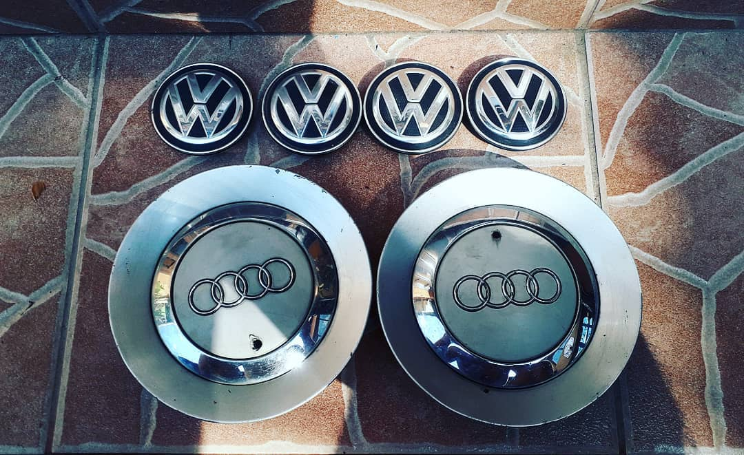 Capace roti cu emblema din gama Audi, VW, Skoda si Seat !