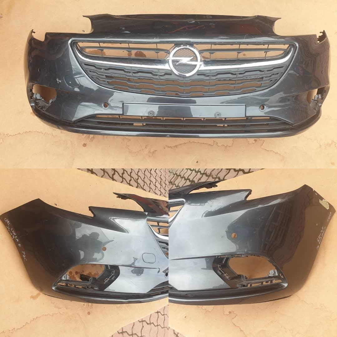 Bara fata cu spalator far si 4 gauri senzor parcare Opel Corsa E 2014/2019