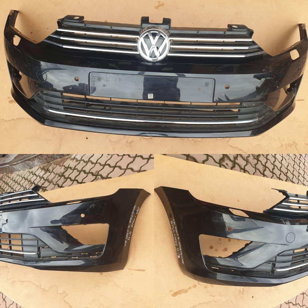 Bara fata cu gauri spalator far si 4 senzori parcare VW Golf Vll Sportsvan 2014/2017
