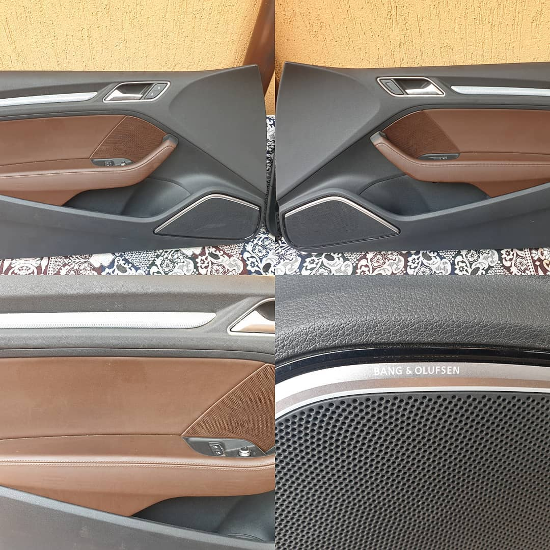 Fete usi fata cu lumina ambientala Audi A3 8V