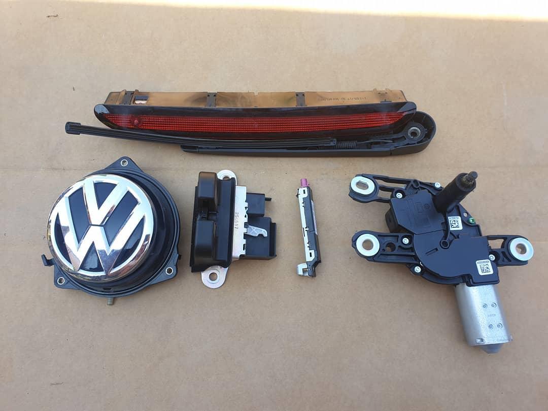 VW Polo Vl Broasca, motoras stergator, senzor amplificare radio, stop frâna, stergator deschidere cu emblema