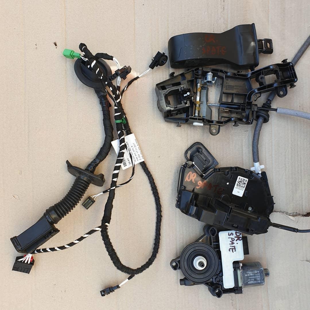Seat Tarraco Macara geam, broasca, incuietoare, motoras geam, balama, instalatie, plastic usa dreapta spate