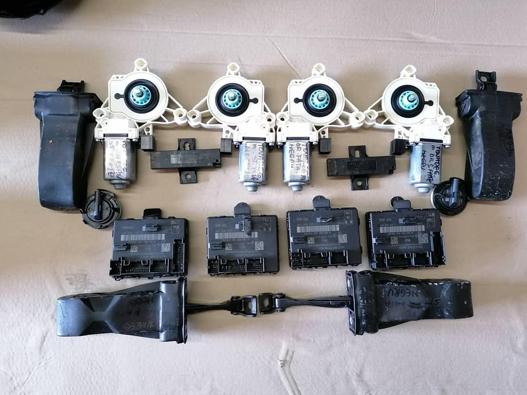 VW Touareg lll Mecanism usi fata-spate Modul, motoras geam, senzor impact, balamale.