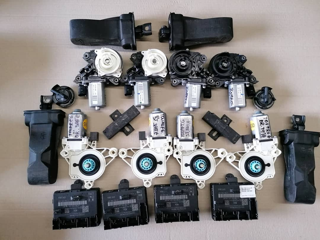 VW Touareg lll Mecanism usi fata-fata spate Modul, senzor impact, balamale, motoras geam.