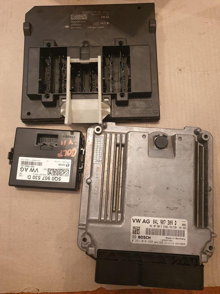 Calculator Motor, Calculator confort, modul portbagaj Golf VII 2015