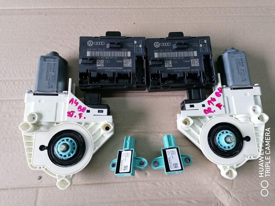 Audi A4 B8 8K 2009/2012 Usi fata stanga/dreapta Module, senzor impact, motoras geam.