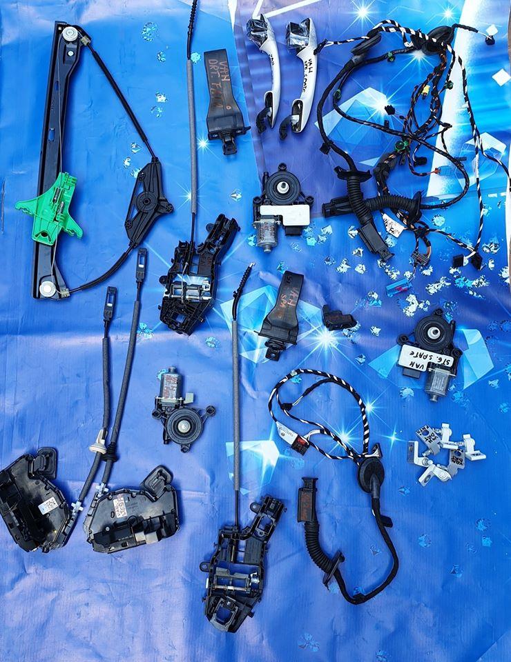Sistem complet macarale geamuri, motorase, balamale, manere usi Vw golf Sportsvan