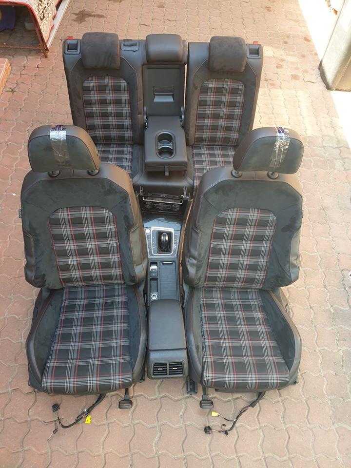 Interior Golf VII GTI 2013-2017